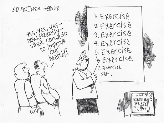 Exercise health advice
