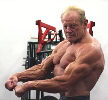 Dave Draper at age 63