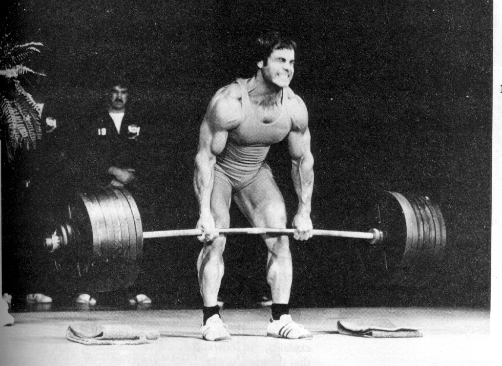 heavy weightlifting