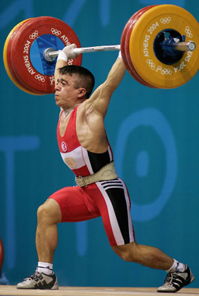 olympic weightlifter