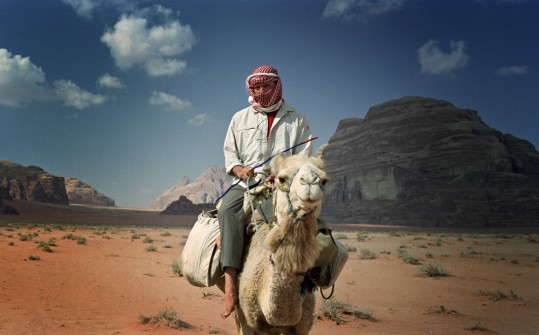 Ryan Murdock traveling in Jordan